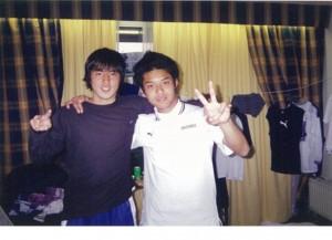 長谷部選手はこの頃から頭角を現していった。