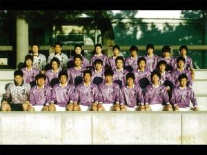 成岡翔君、大井健太郎君、岡田隆君と後のJリーガーが一緒に。